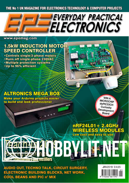 Everyday Practical Electronics – January 2019
