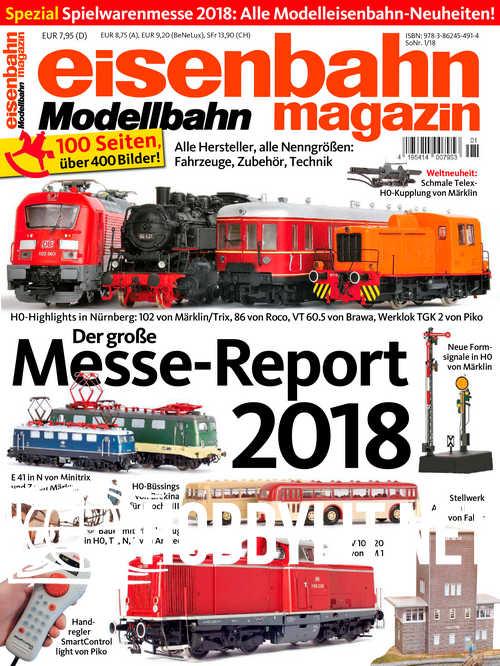 Eisenbahn Magazin Spezial Spielwarenmesse 2018