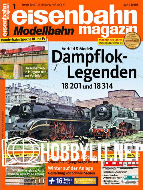 Eisenbahn Magazin - Januar 2019