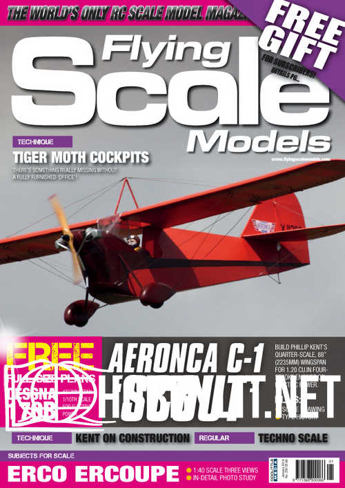 Flying Scale Models - January 2019