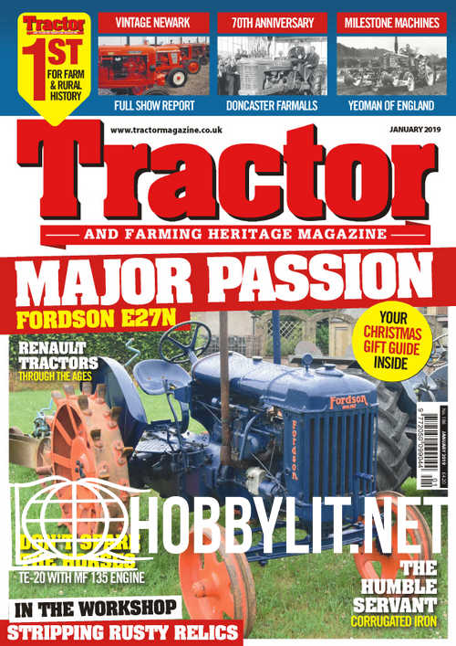 Tractor And Farming Heritage Magazine - January 2019