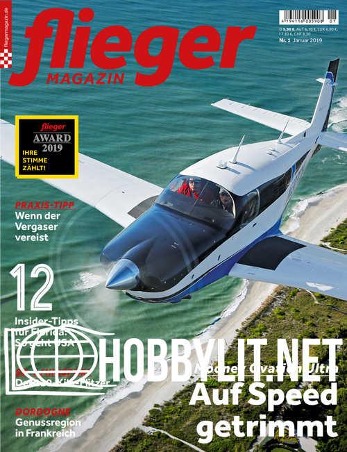 Fliegermagazin – Januar 2019