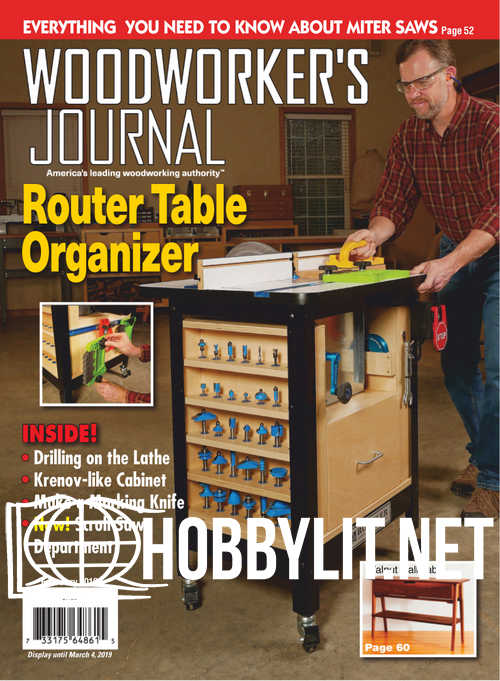 Woodworker's Journal - February 2019