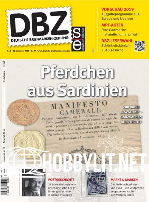 Deutsche Briefmarken-Zeitung 2019-01