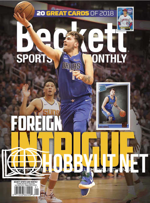Beckett Sports Card Monthly – January 2019