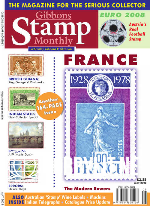 Gibbons Stamp Monthly - May 2008