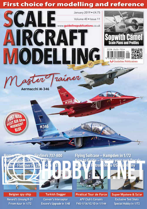 Scale Aircraft Modelling – January 2019