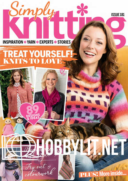 Simply Knitting Issue 181