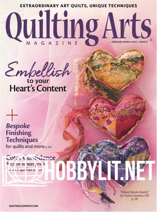 Quilting Arts - February/March 2019
