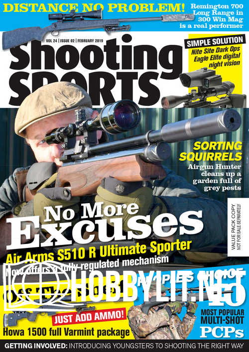 Shooting Sports – February 2019
