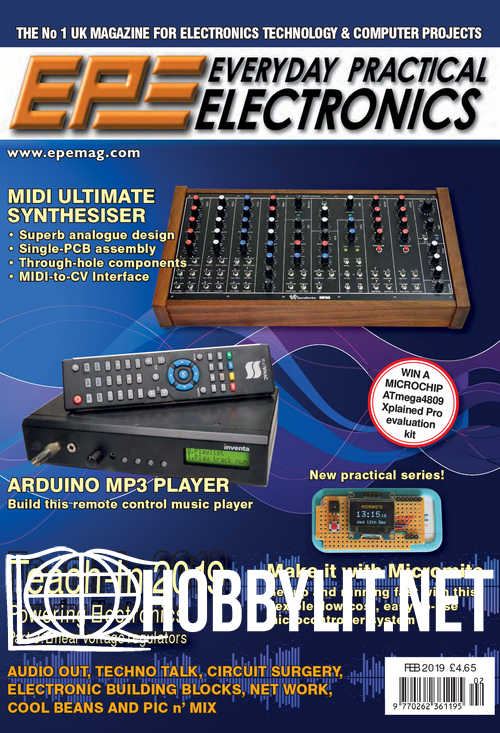 Download Everyday Practical Electronics – February 2019