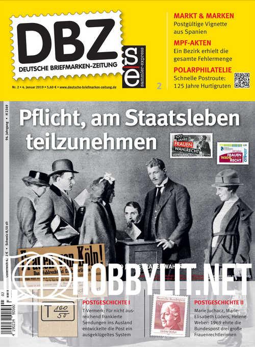 Deutsche Briefmarken-Zeitung 2019-02