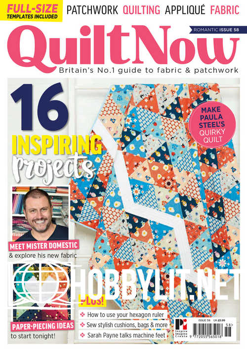 Quilt Now Issue 58