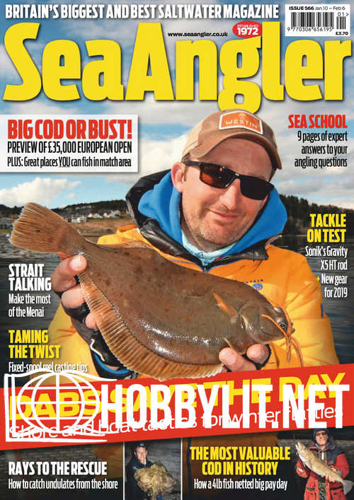 Sea Angler - January 2019