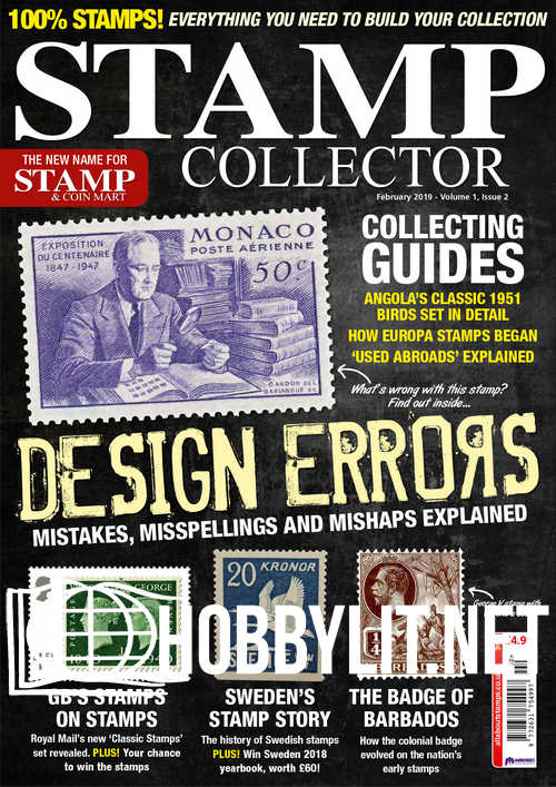 Stamp Collector – February 2019