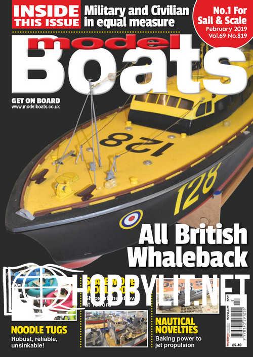 Model Boats – February 2019
