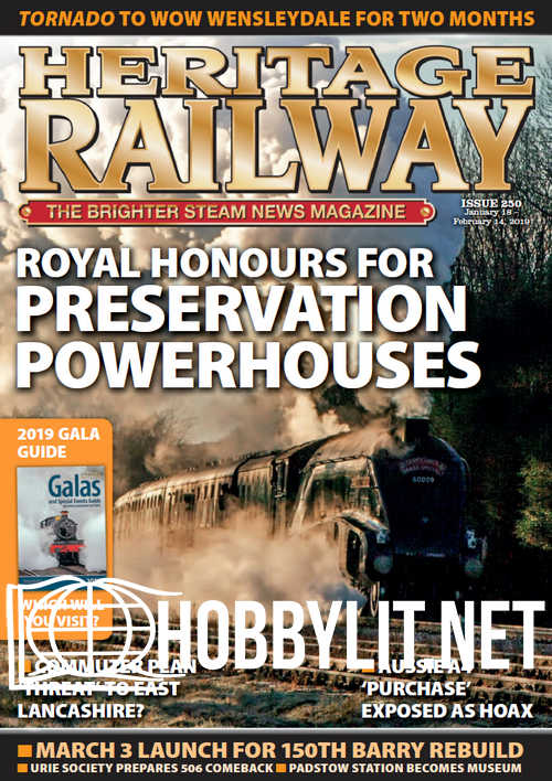 Heritage Railway 250 – January 18, 2019