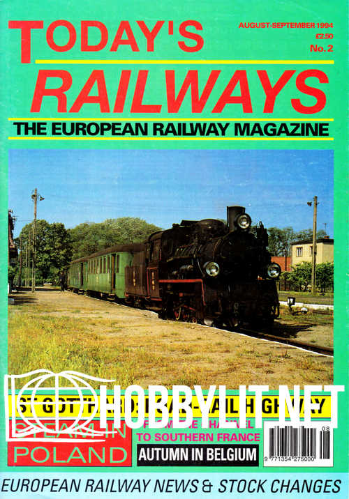 Today's Railways Europe 002 - August/September 1994