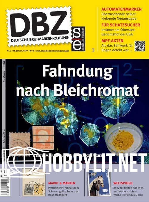Deutsche Briefmarken-Zeitung 2019-03