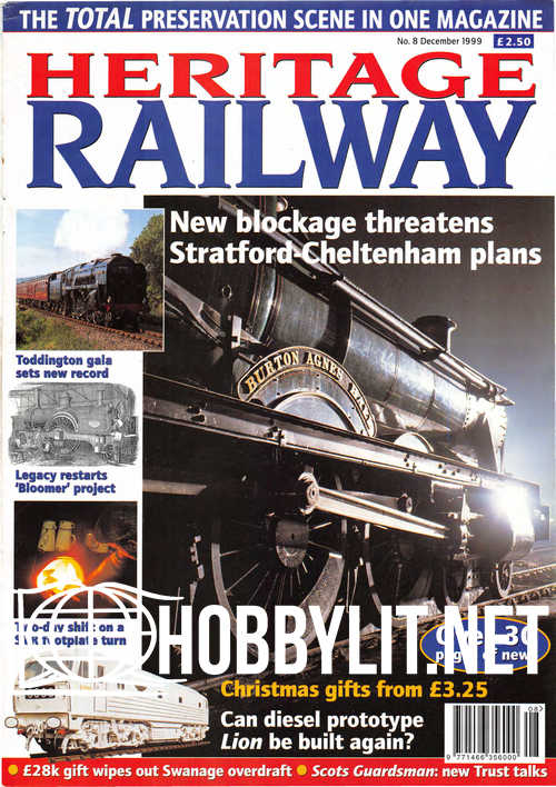 Heritage Railway 008 - December 1999