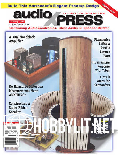 AudioXpress Premiere Issue - January 2001