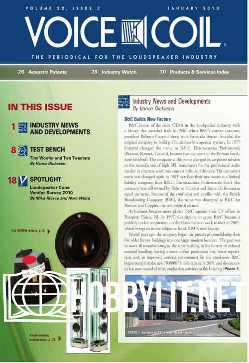 Voice Coil - January 2010