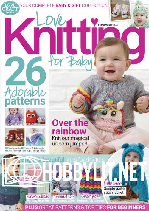 Love Knitting for Baby - February 2019
