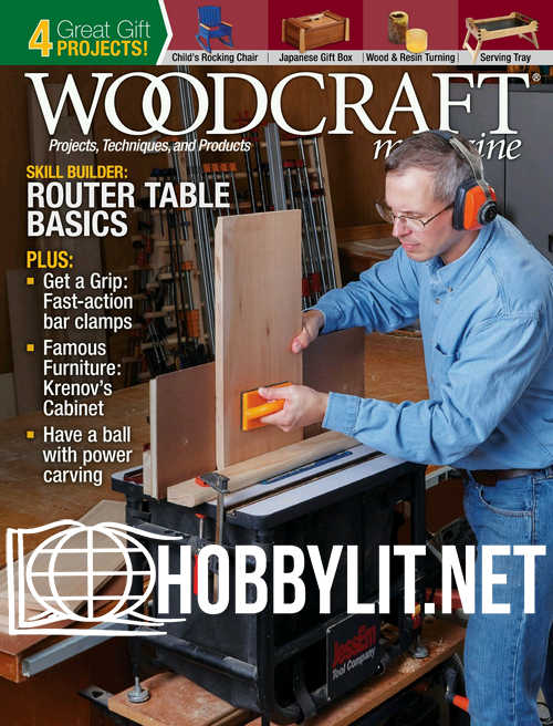 Woodcraft Magazine Issue 86 - December/January 2019
