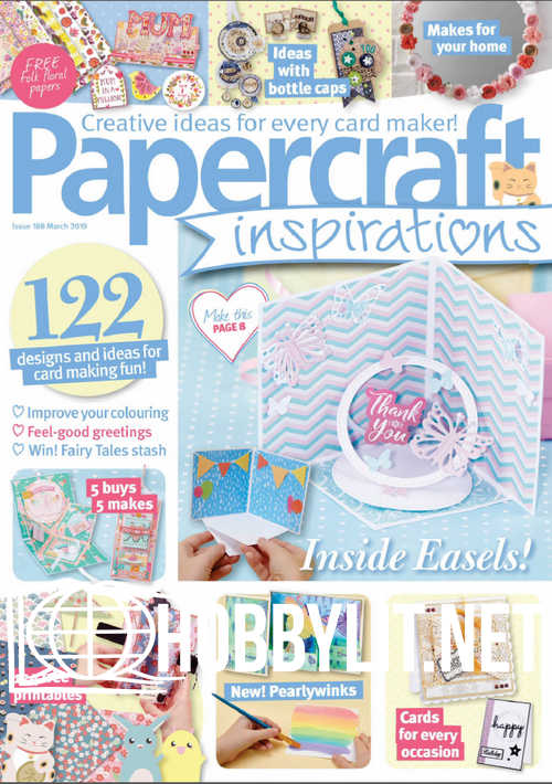 PaperCraft Inspirations - March 2019