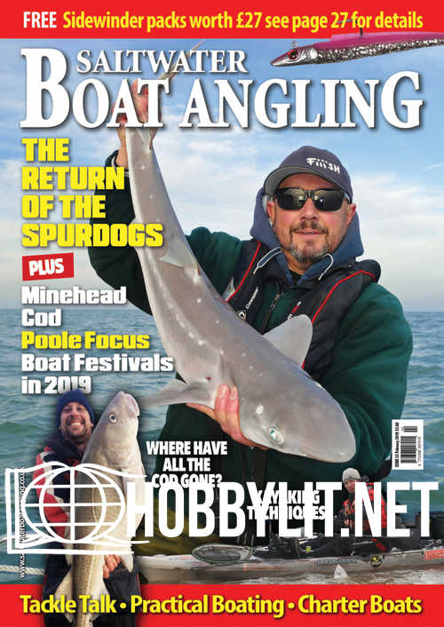 Saltwater Boat Angling - February 2019
