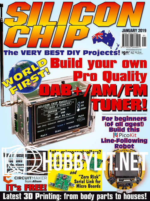 Silicon Chip - January 2019