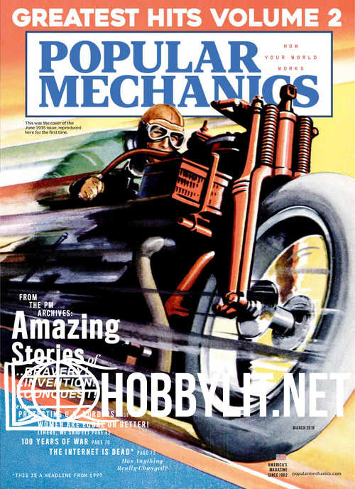 Popular Mechanics - March 2019