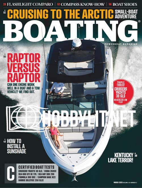 Boating - March 2020