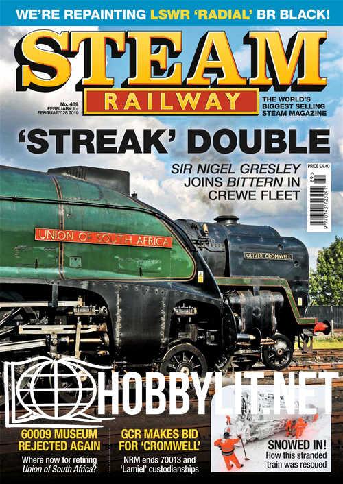 Steam Railway - February 1, 2019