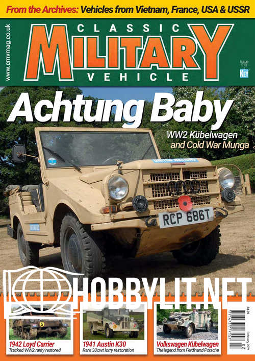 Classic Military Vehicle - February 2019