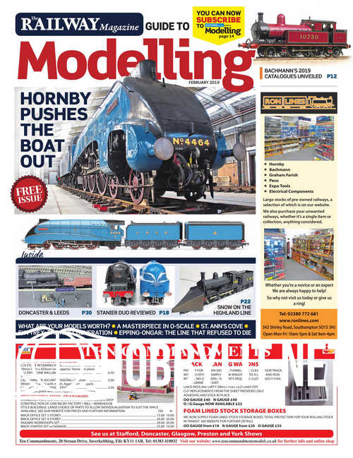 The Railway Magazine Guide to Modelling - February 2019
