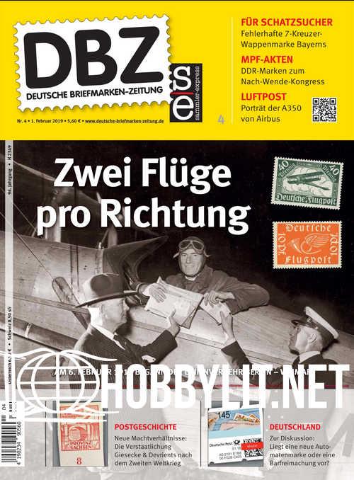 Deutsche Briefmarken-Zeitung 2019-04