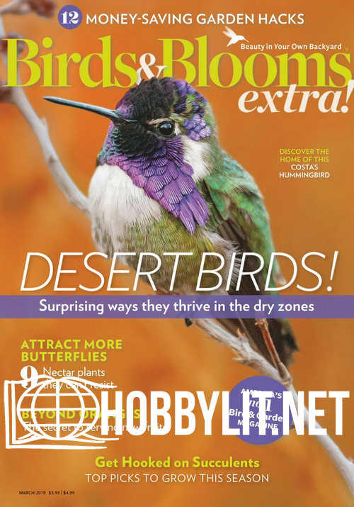 Birds and Blooms Extra - March 2019