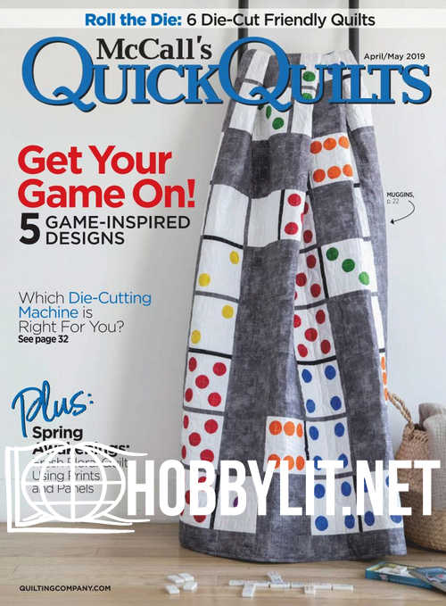 McCall's Quick Quilts – April/May 2019