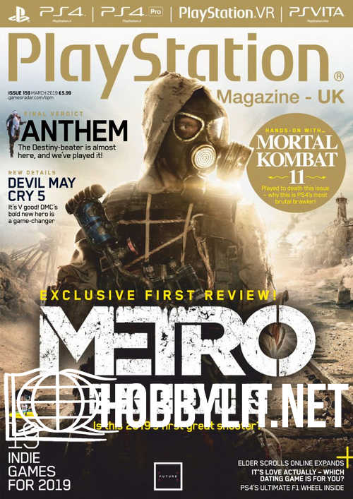 PlayStation Official Magazine UK - March 2019