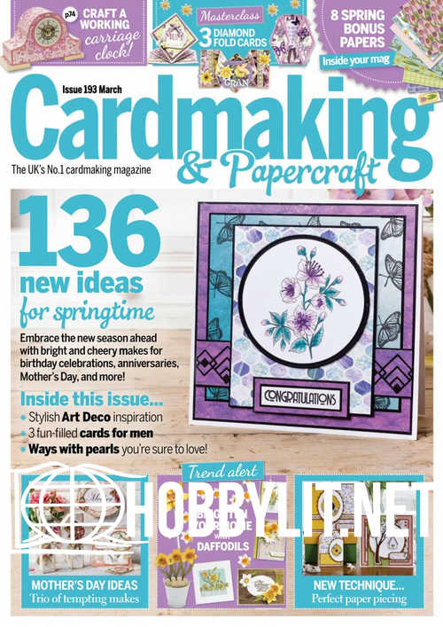 Cardmaking and Papercraft - March 2019