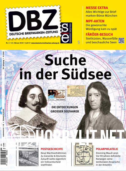 Deutsche Briefmarken-Zeitung 2019-05