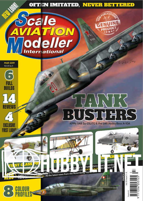 Scale Aviation Modeller International - March 2019