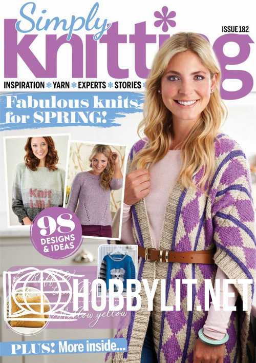 Simply Knitting Issue 182