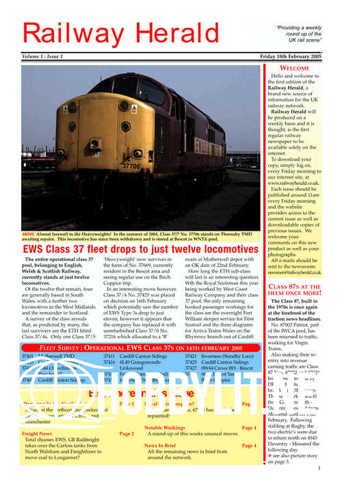 Railway Herald No 1-10 in one file