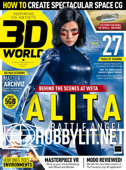 3D World - April 2019