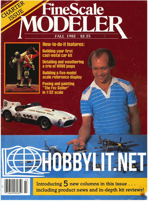 FineScale Modeler Volume1 Issue 1 - Fall 1982