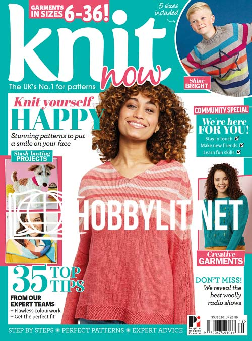 Knit Now Issue 116