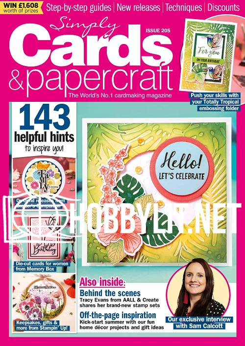 Simply Cards & Papercraft Issue 205