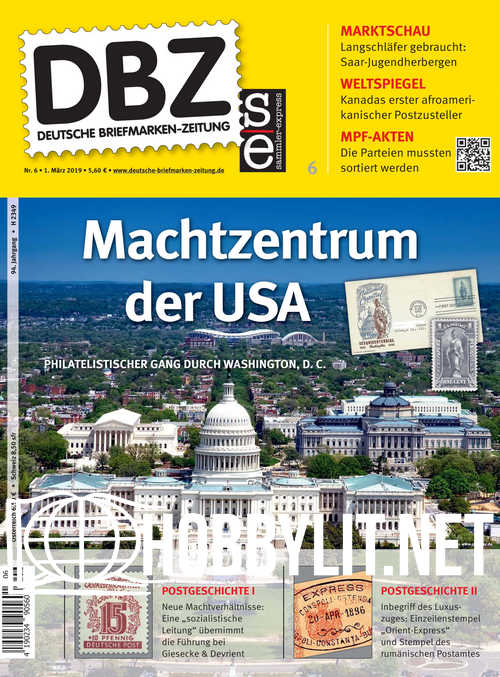 Deutsche Briefmarken-Zeitung 2019-06